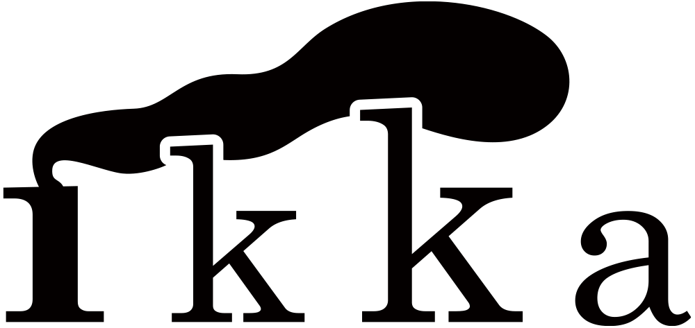 ikkaのロゴ